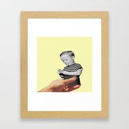 Don't Smoke Kid Framed Art Print