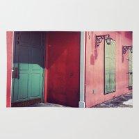 door Area & Throw Rugs featuring Door by wendygray