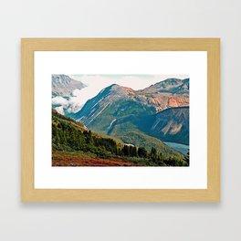 Parker Ridge Trail Framed Art Print