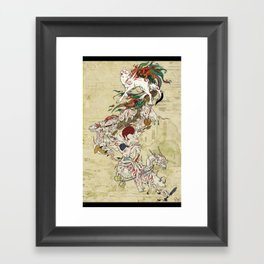 Okami Celestial Parade Framed Art Print