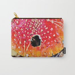 Fly amanita mushroom Carry-All Pouch