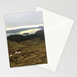 Sheep tour Stationery Cards
