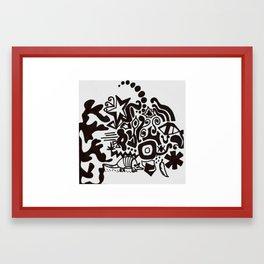 Jam Sharpie Framed Art Print