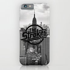 The Strokes Logo New York Black And White iPhone 6s Slim Case