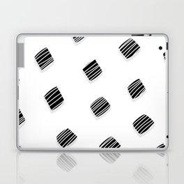 BLACK squares / minimal Laptop & iPad Skin
