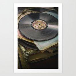 Vintage Vinyl IV Art Print