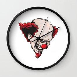 Crazy Clown Wall Clock