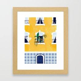 Lisbon girl Framed Art Print