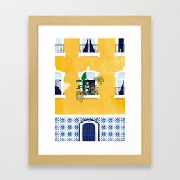 Lisbon girl Gerahmter Kunstdruck