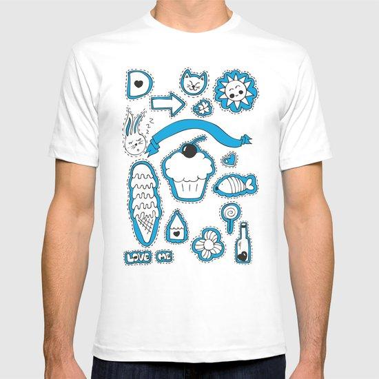 Sticker World T-shirt