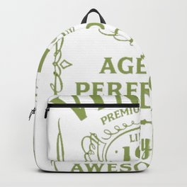 Green-Vintage-Limited-1917-Edition---100th-Birthday-Gift---Sao-chép Backpack