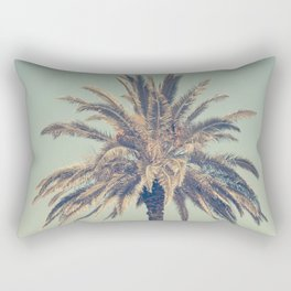 Retro palm tree Rectangular Pillow
