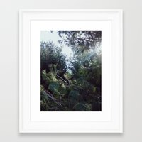 clear Framed Art Prints featuring Clear by Nicholas Driver