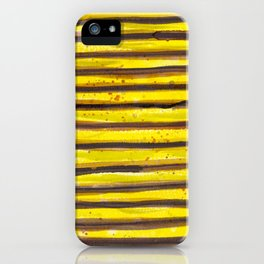 BUMBLE BEE SWIRL iPhone Case