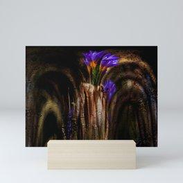 Concept flora : The princess Mini Art Print