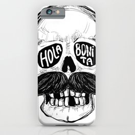Hola Bonita iPhone Case