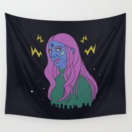 Space Witch Wall Tapestry