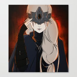 The Firekeeper Canvas Print
