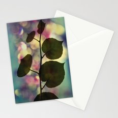 Kiwi leaves Stationery Cards