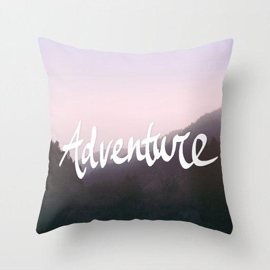 Wild Adventure Throw Pillow