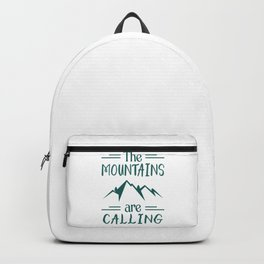The Mountains Are Calling gr Backpack