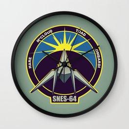 The Lylat Space Academy Wall Clock