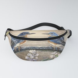 The Blues in Paradise Fanny Pack