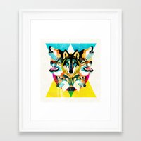 wolves Framed Art Prints featuring wolves by Alvaro Tapia Hidalgo