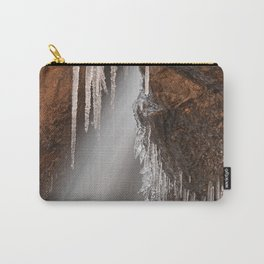 Stream of Frozen Hope Carry-All Pouch