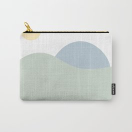 pale mountains Carry-All Pouch