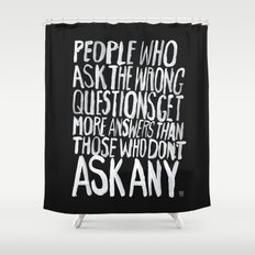ANSWERS Shower Curtain