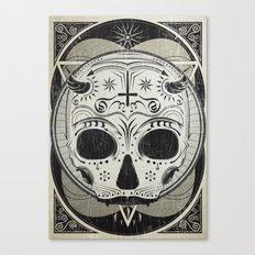 il vampiro Canvas Print