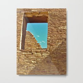Ancient Window Metal Print