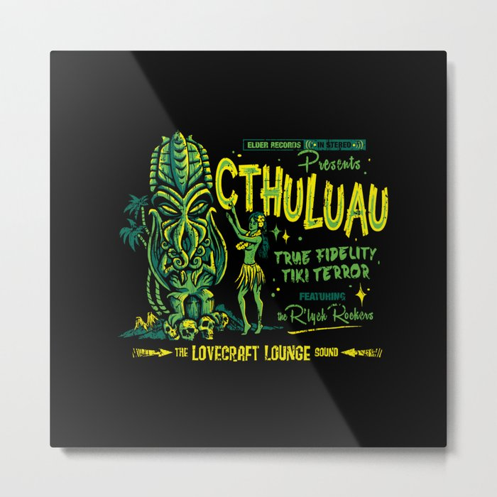 Cthuluau Metal Print