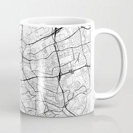 Dortmund Map White Coffee Mug