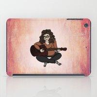 lara croft iPad Cases featuring Lara by Ilse Busschers