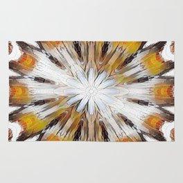 Sunburst Abstract Rug