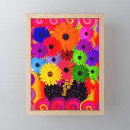 My Flower Vase Framed Mini Art Print