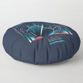 Time Travel Floor Pillow