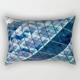 Gherkin Building abstract Rectangular Pillow