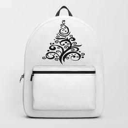 Christmas Tree Tribal Decoration Backpack
