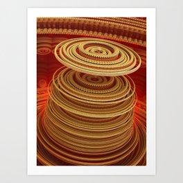 Turbine Art Print