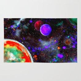 Intense Galaxy Rug