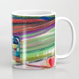 Groovy Snoopy Nature Collage Coffee Mug