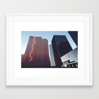 houston Framed Art Prints featuring Houston by Jorieanne