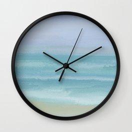 Seashore Small Breakers Wall Clock