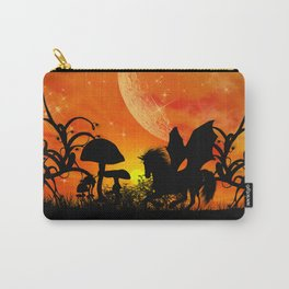 Beautiful unicorn silhouette Carry-All Pouch