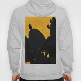 Cactus shadows in the sunset Hoody