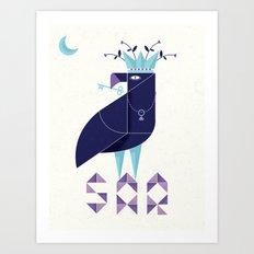SAR Art Print