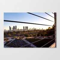 israel Canvas Prints featuring Israel color by Lindsey Sarah